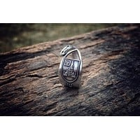 Walt Disney World Sterling Spoon Ring