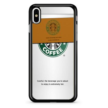 Starbucks Coffee Cup iPhone X Case