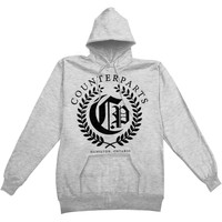 Counterparts Men's  Olive Branch Hooded Sweatshirt Grey
