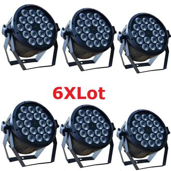 6xLot DJ Disco DMX LED Party Beam Light