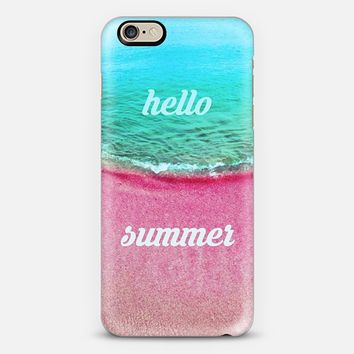 hello summer iPhone 6 case by austeja platukyte | Casetify