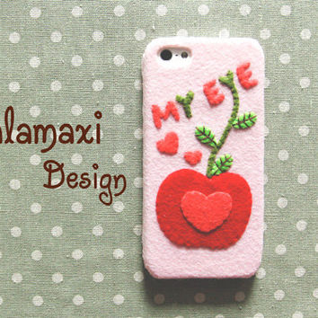 Handmade Apple of My Eye Valeintine Phone Case,  iPhone 6/6 Plus Cover for Her,  Valentine iPhone 4/4S/5/5S/5C Case, Custom Phone Case