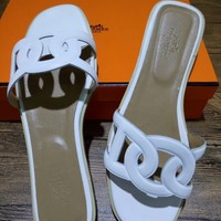 Hermes Fashionable casual slippers