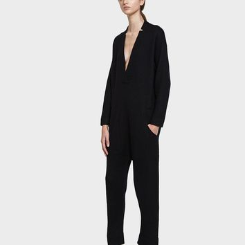 Lauren Manoogian / Utility Jumpsuit in Black