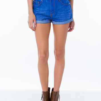 Off-The-Cuff Denim Shorts