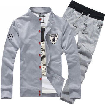 Set Korean Men Pants Hoodies Jacket [6528675843]