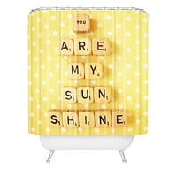 Happee Monkee You Are My Sunshine Shower Curtain