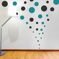 Assorted Polka Dots Wall Decals