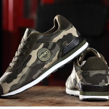 Women sneakers Spring Autumn  camouflage students shoes flat