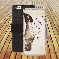 iphone 6 case Feather pen colorful iphone 4/4s iphone 5 5C 5S iPhone 6 Plus iphone 5C Wallet Case,iPhone 5 Case,Cover,Cases colorful pattern L512