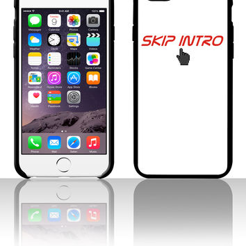 skip intro 5 5s 6 6plus phone cases