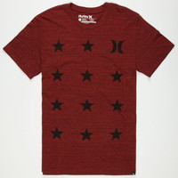 Hurley Patriot Mens T-Shirt Heather Red  In Sizes