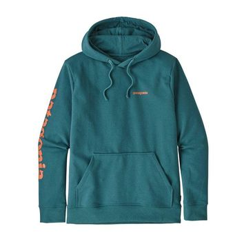 PATAGONIA MEN'S TEXT LOGO UPRISAL HOODY