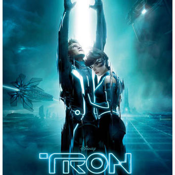 Tron: Legacy Sam and Quorra Poster 11x17