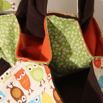 Triple Bunk Bed Rat Ferret Guinea Pig Hamster Fleece Fabric Sewn Large Hammock Pet Rodent Orange Green Brown Blue Canopy Owl Bird Fabric