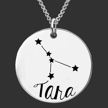 Cancer Constellation Personalized Necklace