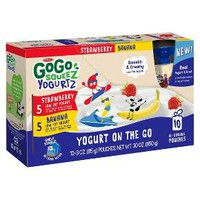 Gogo Squeez® Strawberry Banana Yogurt On The Go - 30oz