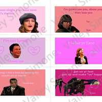 Parks and Recreation Valentines