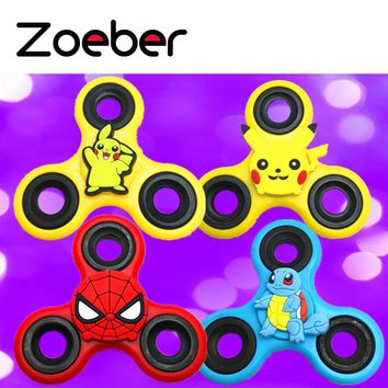 Pokemon Pikachu Fidget Spinner Kid Toy