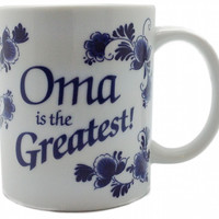 German Gift Oma Coffee Cup