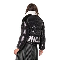 Moncler Women Warm Winter Down Jacket Windproof Hooded Collar Men's Parka Male Big Coat Smart Casual Covered Button