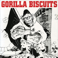 Gorilla Biscuits Sticker