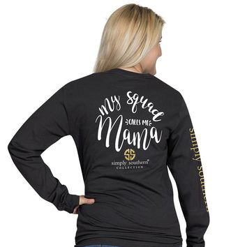 Preppy Mama Long Sleeve Tee