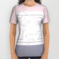 Selago Classic Rose Manatee All Over Print Shirt by deluxephotos