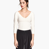 H&M V-neck Jersey Top $24.95