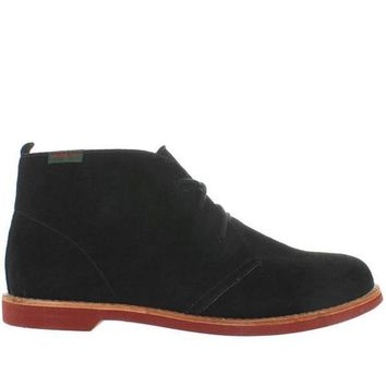 ONETOW Bass Elspeth - Black Suede Chukka Boot