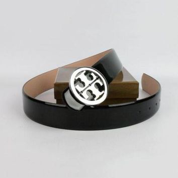 LMOFN1 Perfect Tory Burch Woman Men Fashion Smooth Buckle Belt Leather Belt