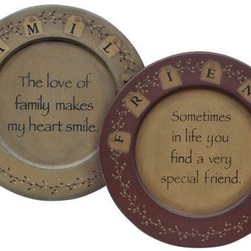 Friends & Family Plates - Assorted