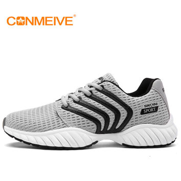 new running shoes cheap sneakers sport mesh breathable sports men for light runing wide(c,d,w) low rubber massage fly real