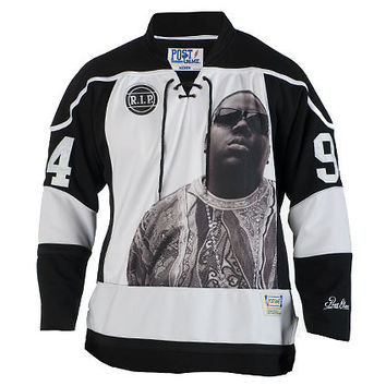 SMALLS HOCKEY JERSEY - Black - POST GAME