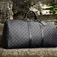 Free shipping-LV wild leisure travel bag