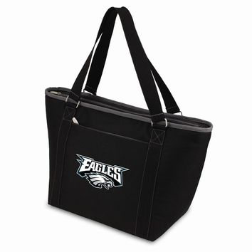 Philadelphia Eagles Insulated Black Cooler Tote