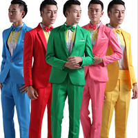 Long-Sleeved Men's Suits