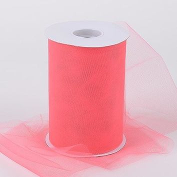 Coral Tulle Roll