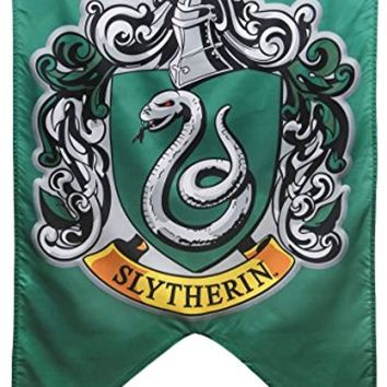 "Harry Potter Hogwarts Slytherin House Wall Banner (30"" by 50"")"