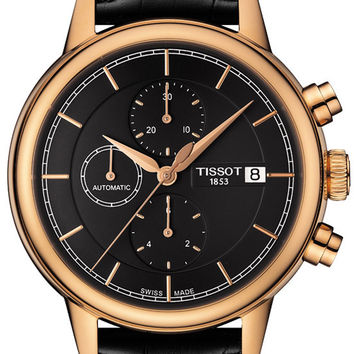 Tissot Carson Mens Chronograph Automatic Watch T0854273606100