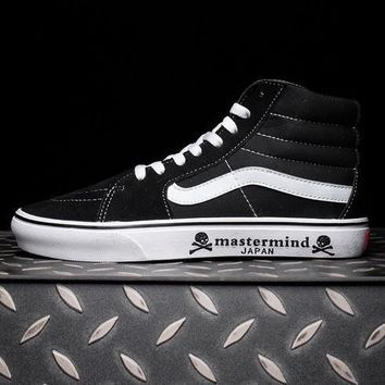 Trendsetter VANS Mastermind Japan SK8 Hi Canvas Sneakers Sport Shoes
