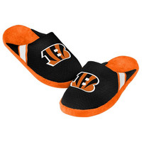 Cincinnati Bengals Official NFL Jersey Slippers