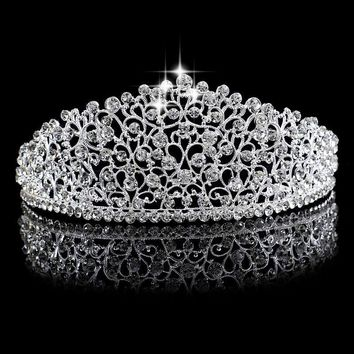 """Courtney"" Silver Birthday Tiara"