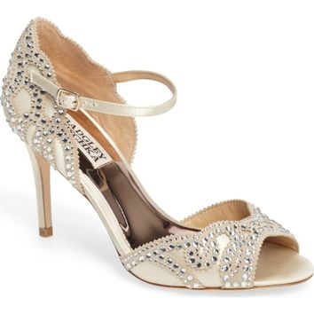 Badgley Mischka Belinda Ankle Strap Pump (Women) (Nordstrom Exclusive) | Nordstrom