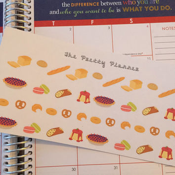 Baked Good Life Planner Stickers