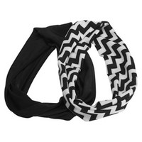 Remington Yoga Head Wraps - Black/White (2 Count)