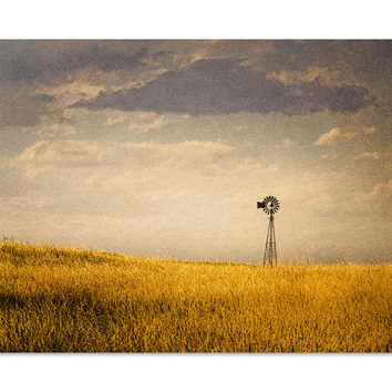 Windmill - Farmhouse Decor - Rustic Wall Art - Windmill Wall Decor - Farm House Decor - Windmill Wall Art - Photography Print