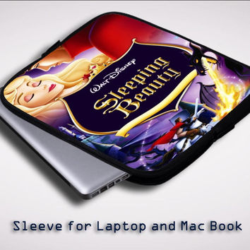 Walt Disney's Sleeping Beauty Y0416 Sleeve for Laptop, Macbook Pro, Macbook Air (Twin Sides)