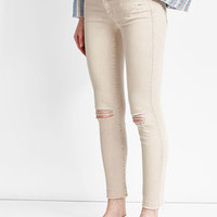 Luca Distressed Skinny Jeans - Mother | WOMEN | US STYLEBOP.COM