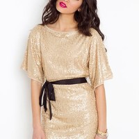 Brooke Sequin Dress in  Clothes Dresses at Nasty Gal